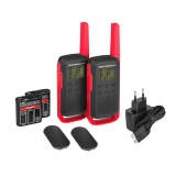 Motorola TALKABOUT T62 PMR446, Red Twin Pack WE